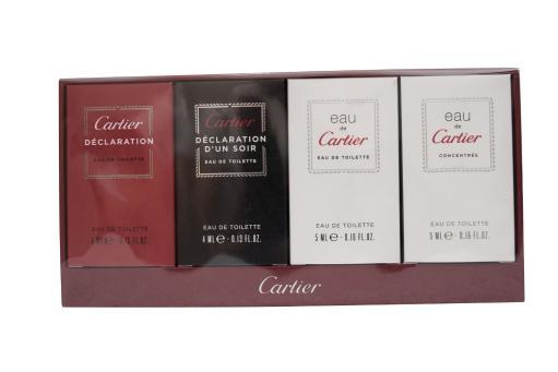 Cartier Eau De Cartier Miniature Set Cartier Eau De Cartier Miniature Set.