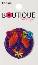 Iron-on Appliques-peace Sign