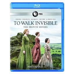Masterpiece-to walk invisible-bronte sisters (blu-ray) BRMAS64711