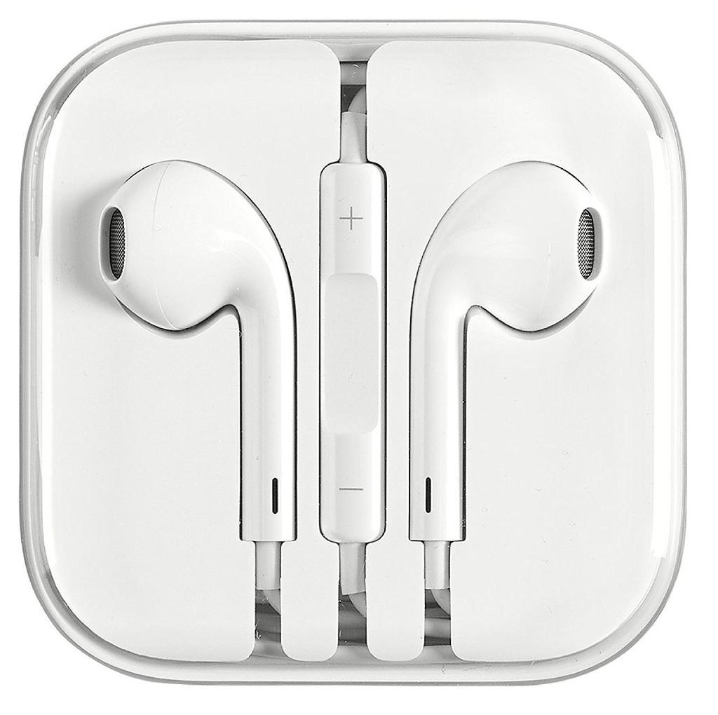 Apple Earpods 3.5 mm Adapter with Remote and Microphone in Bulk Packaging Refurbished