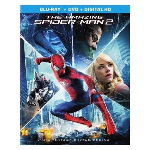 Amazing spiderman 2 (2014/blu-ray/dvd combo/ultraviolet/2 disc) LB992QAVIVVQLJR7