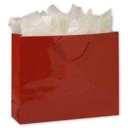 Deluxe Small Business Sales 244-160413C-1 16 x 4.75 x 13 in. Gloss Laminated Euro-Shoppers, Red