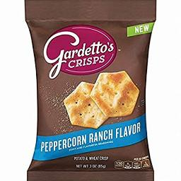 Gardetto's Crisps Peppercorn Ranch, 1.5 Pound (Pack of 7)
