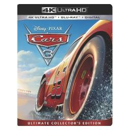 Cars 3 (blu-ray/4k-uhd/digital hd) BR146389
