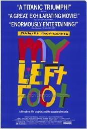My Left Foot Movie Poster Print (27 x 40) MOVIF2428