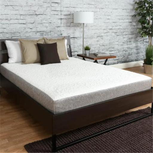 Premier Sleep Products US0860CK 8 in. Medium Firm Memory Foam Mattress - California King, White