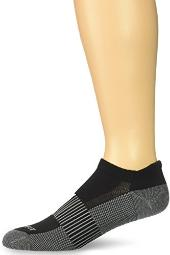 Copper Fit Unisex Copper Infused No Show Socks - 3, Black, Size Large / X-Large