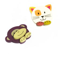 Cute Animals-2 - Refrigerator Magnets / Animal Magnets