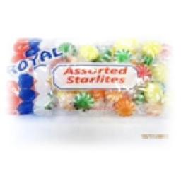Royal Candy Assorted Starlight Candy, Case of Six 7 Oz. Bags