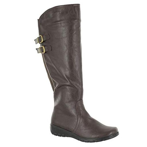 Easy Street Women's Tess Plus Mid Calf Boot
