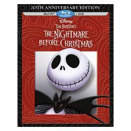 Nightmare before christmas-20th anniversary (blu-ray/dvd/2 disc) BR117383