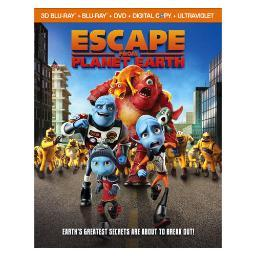 Escape from planet earth (blu-ray/dvd combo/3-d/uv/dc/ws/2013/4 disc) (3-d) BR24749