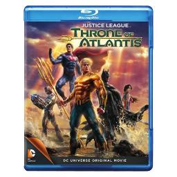 JUSTICE LEAGUE-THRONE OF ATLANTIS (BLU-RAY/DVD/DHD/ULTRAVIOLET/2 DISC) 883929366095