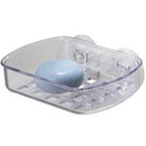 Inter-Design Soap Dish Suction Clear 19600