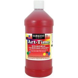 Washable Art-Time(R) Tempera Paint 32oz Red