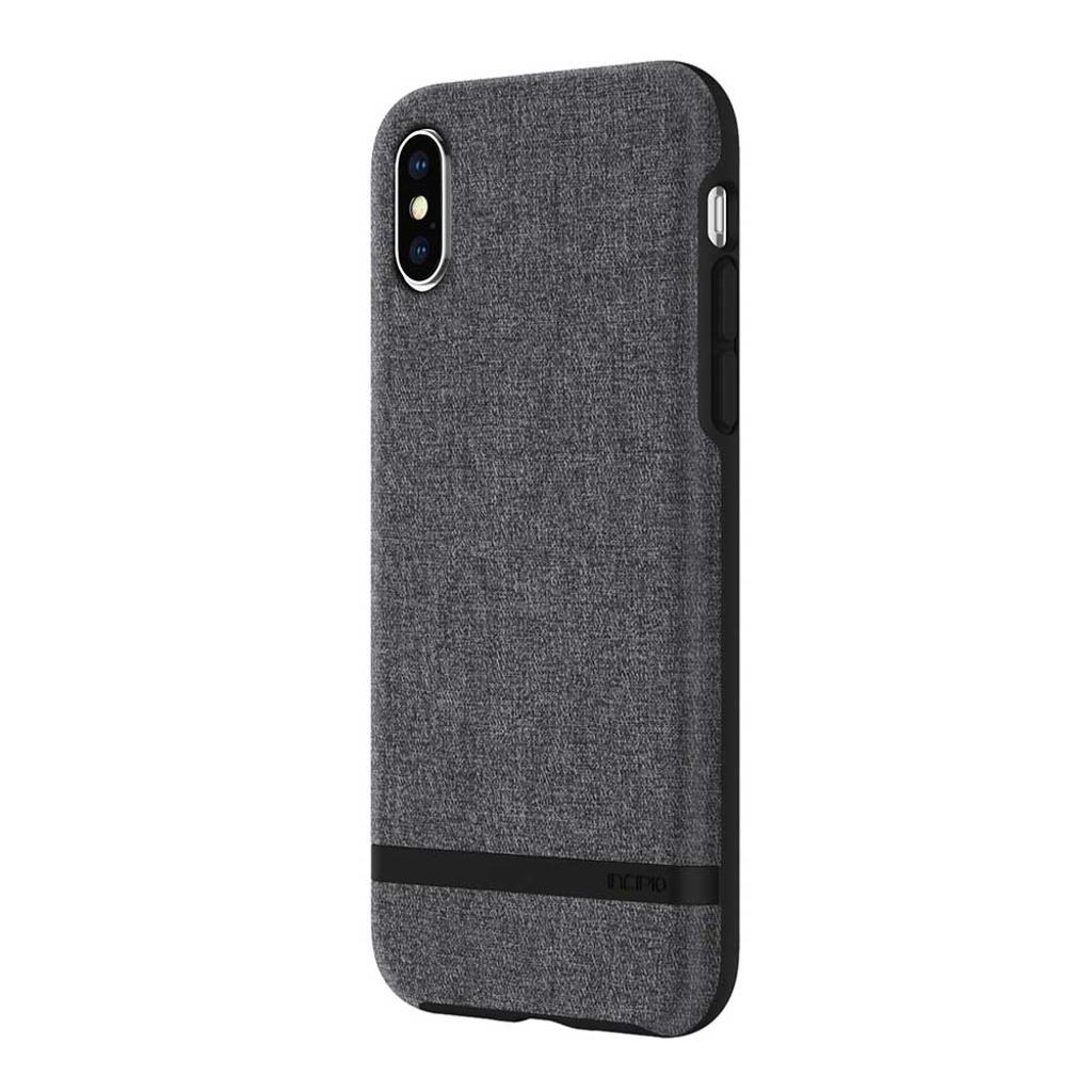 Incipio Carnaby iPhone X Case [Esquire Series] with Co-Molded Design and Ultra-Soft Cotton Finish for iPhone X -