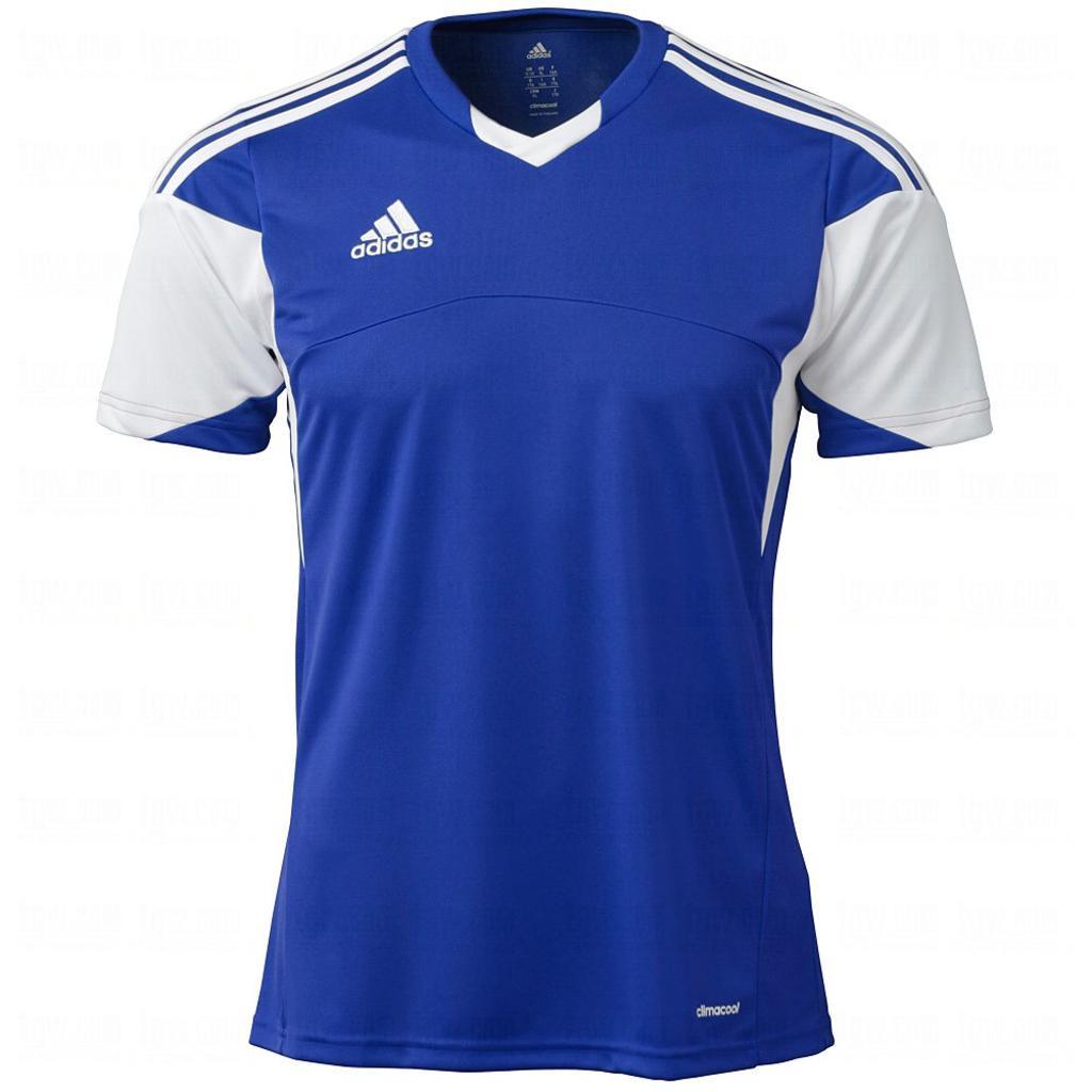 Adidas Boys Tiro 13 Jersey T-Shirt Cobalt/White Size Youth