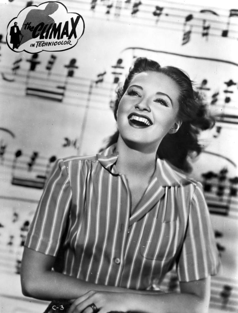 A publicity still of Susanna Foster for The Climax Photo Print