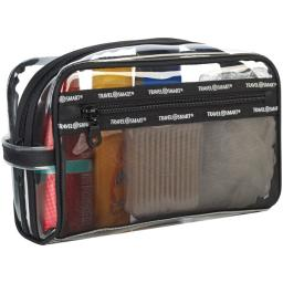 Travel smart(r) ts78sk transparent sundry pouch/cosmetic bag