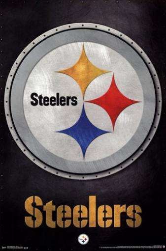 Pittsburgh Steelers - Logo 13 Poster Print
