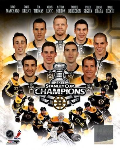 Boston Bruins 2011 NHL Stanley Cup Championship Composite Sports Photo JCSQIJU5HDPLCCEY