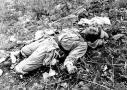 A Chinese soldier killed during the Korean War Poster Print by Stocktrek Images