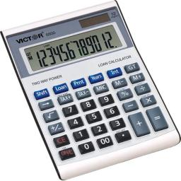 Victor Technology 6500 12 Digit Executive Desktop Financial Calculator with Loan Wizard