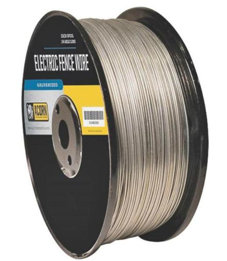 Acorn Efw1714 Galvanized Electric Fence Wire, 17 Gauge