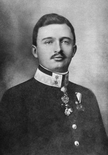 Karl I Of Austria (1887-1922). /Nthe Last Emperor Of Austria, And The Last Monarch Of The Habsburg Dynasty, 1916-1918. Photograph, C1915. Poster.