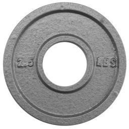 Brybellyholdings Swgt-501 2.5 Lbs. Olympic Style Iron Weight Plate