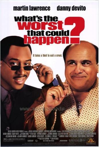 What's the Worst That Could Happen? Movie Poster Print (27 x 40) 887502