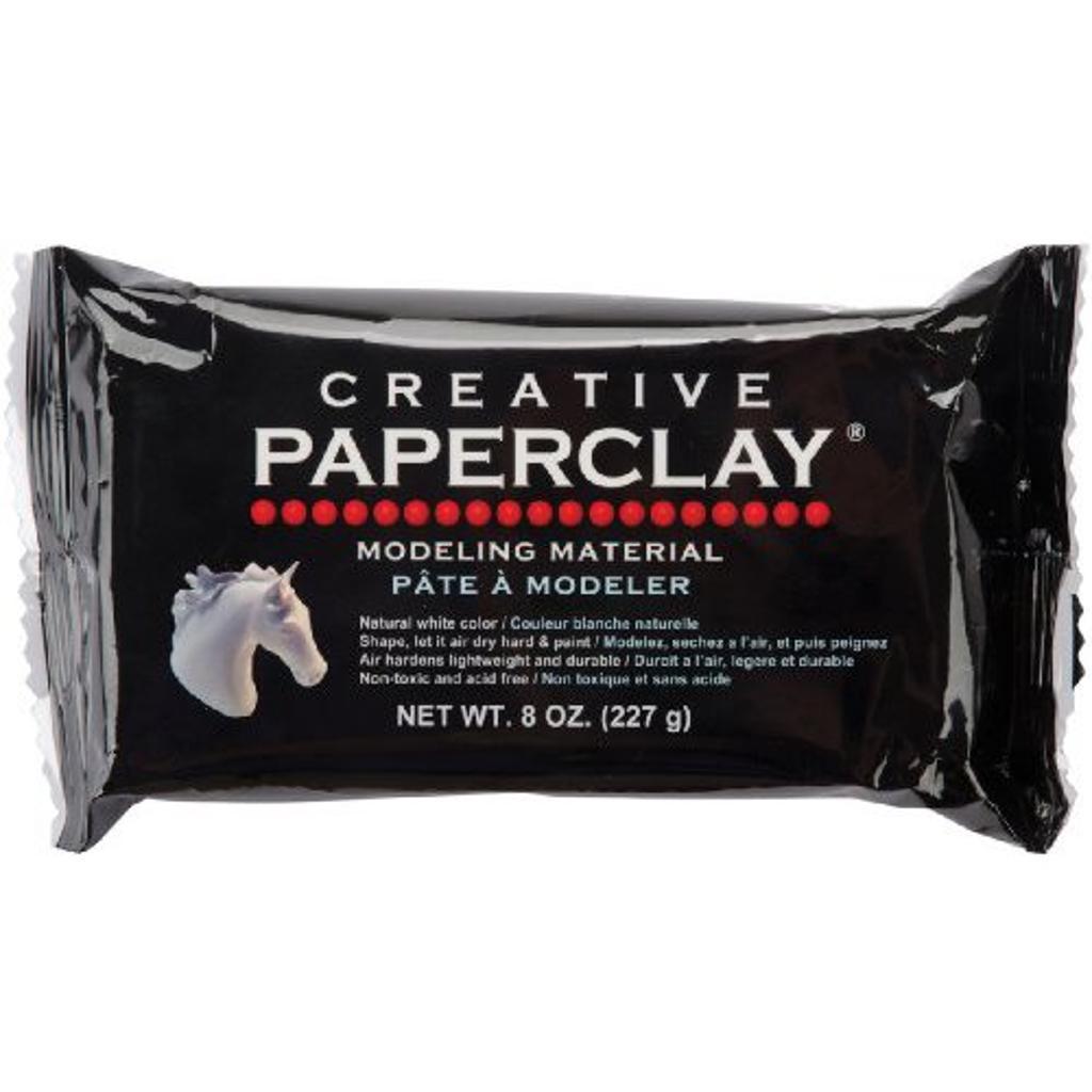 Creative Paperclay 0812 Creative Paperclay 1/2Lb