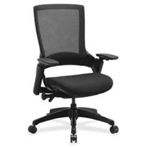 Executive Multifunction High-Back Chair, Black