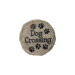Spoontiques 13341 9 stepping stone  dog crossing
