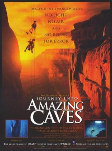 Journey Into Amazing Caves (Imax) Movie Poster (11 x 17) TO5ZQHOFWBFCLJB3