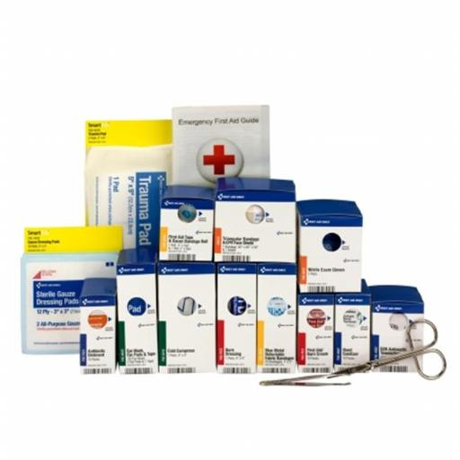 First Aid Only FAO90692 Metal Smart Compliance Food Service Refill Pack, ANSI A Compliant - Medium