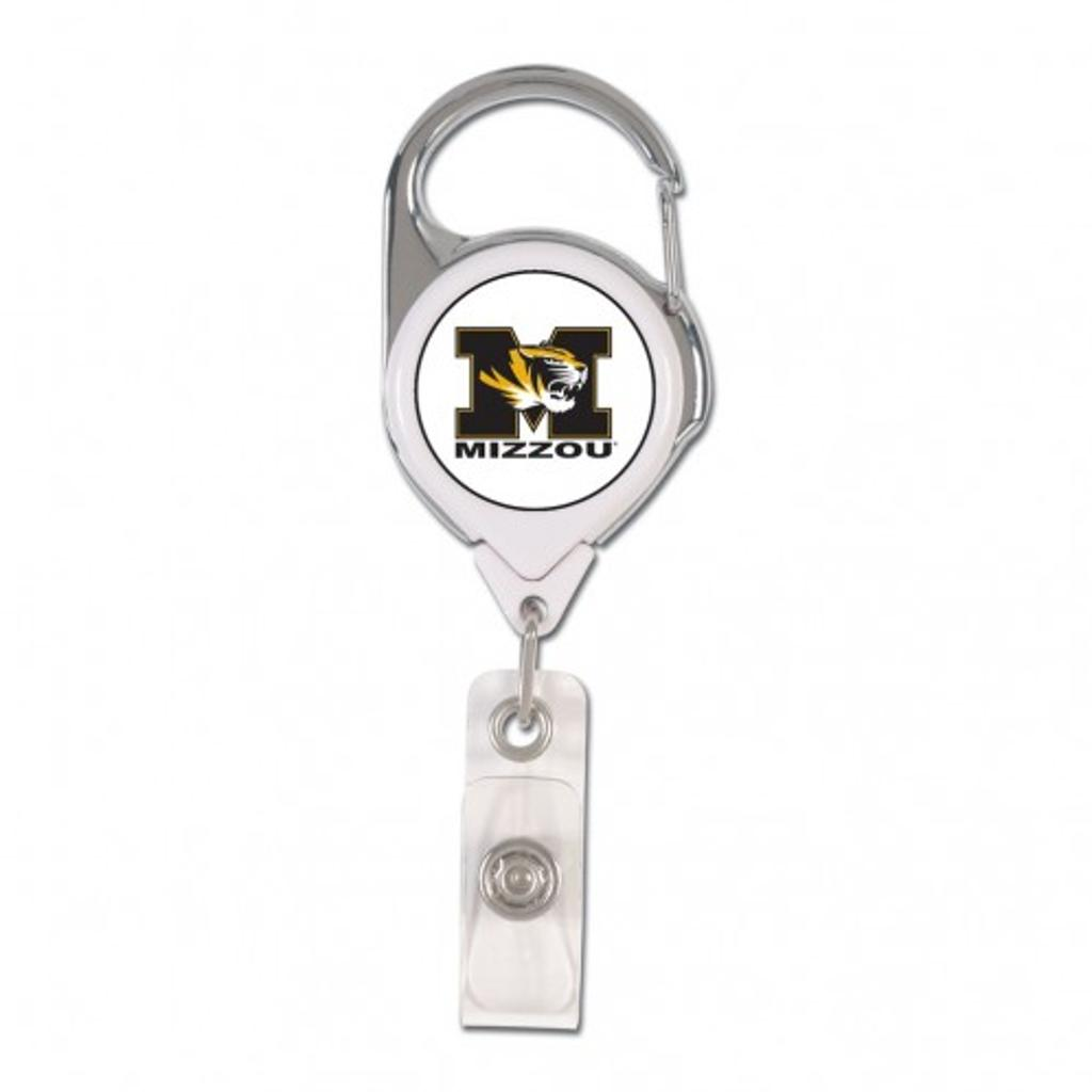 Missouri Tigers Retractable Premium Badge Holder