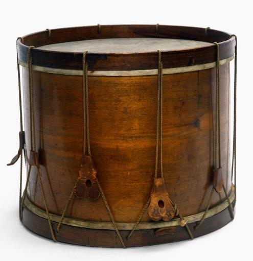 Civil War Drum. /Nsnare Drum, 1861, Used In The American Civil War By A Union Regiment From Maine. Poster Print by Granger Collection