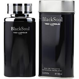 BLACK SOUL by Ted Lapidus EDT SPRAY 3.4 OZ (Package Of 6)