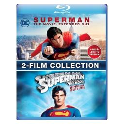 Mod-superman the movie spec ed/extended cut set (2 blu-ray/non-returnable) BR697559