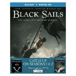 Black sails-seasons 1 & 2 (blu-ray/3 disc/2pk) BR64035