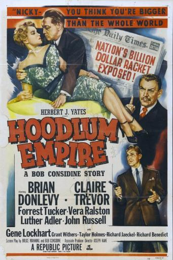 Hoodlum Empire Movie Poster Print (27 x 40) OSK7NPCZI0ZMCNTM