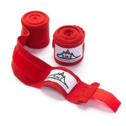 Black Mountain Products Boxing Wraps Red Professional Grade Boxing & Mma Hand Wrist Wraps, Red