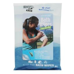 Adventure Medical 0170-0304 Adventure Medical 0170-0304 Adventure Bath Wipes - Travel Size