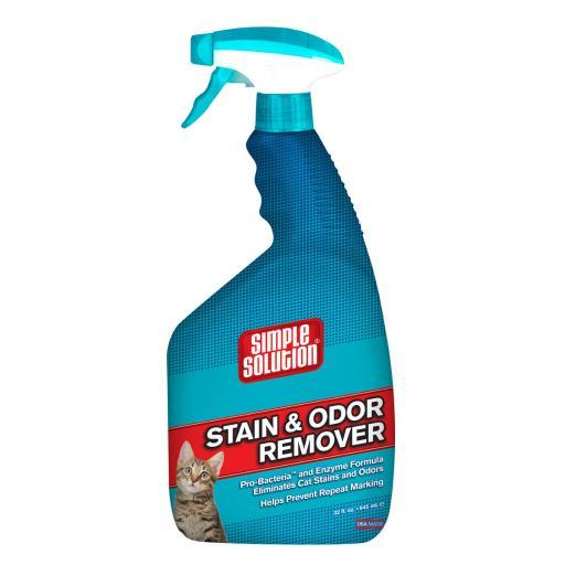 Simple Solution 10627 Simple Solution Cat Stain And Odor Remover 32Oz 2.9 X 4.8 X 10.75 7F277287CC264FF6