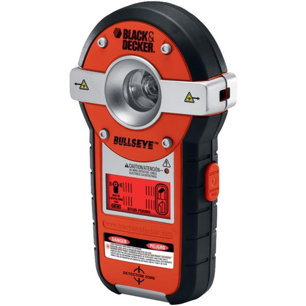 BLACK & DECKER BDL190S BullsEye(R) Auto-Leveling Laser with Stud Sensor