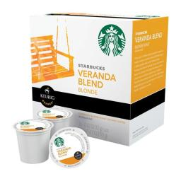 Keurig Green Mountain 6295687 Starbucks Veranda Blend Blonde Coffee K-Cups - Pack of 16