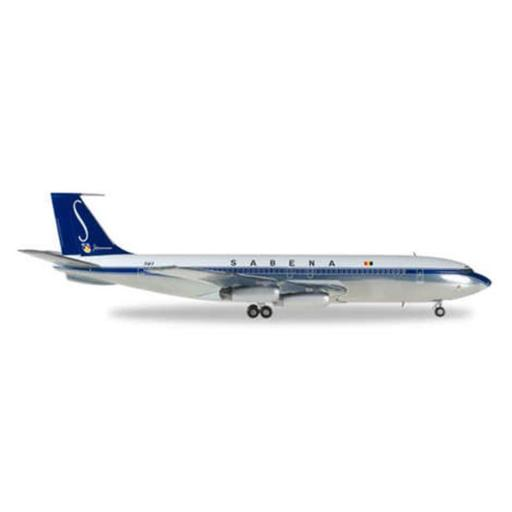 Herpa 200 Scale Commercial-Private HE558280 Sabena 707-320 No. OO-SJA, 1-200 F6A1ED0FD777EC1D