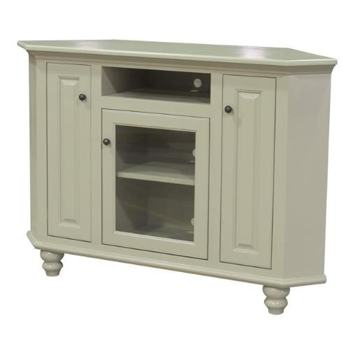 Eagle Furniture 384058PLSS 58 in. Orleans Corner Entertainment Console, Summer Sage