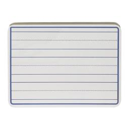 School Smart 1500336 Dry-Erase Ruled Pupil Board, 9 x 12 in. - White - Pack of 30